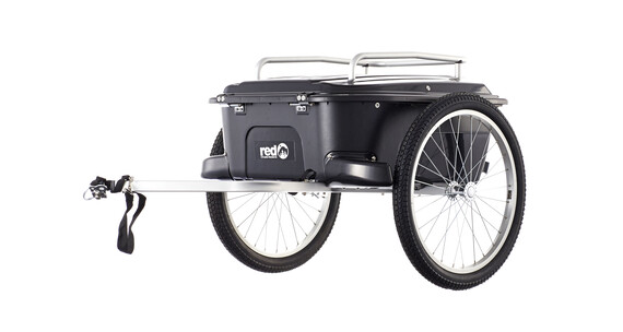 Red Cycling Products Cargo Trailer Cykelvagn svart